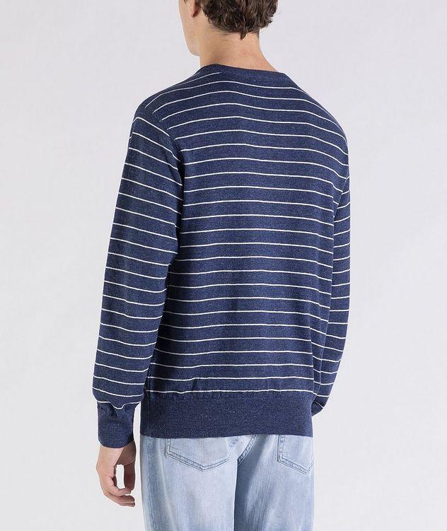 Striped Linen-Cotton Sweater picture 3
