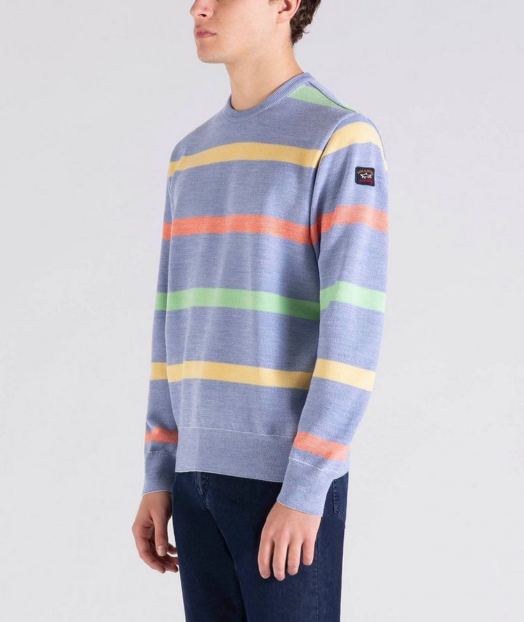 Striped Wool Sweater image 1