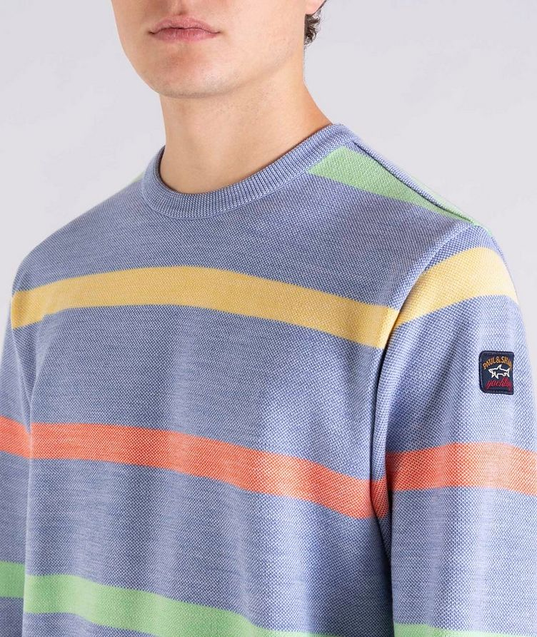 Striped Wool Sweater image 3