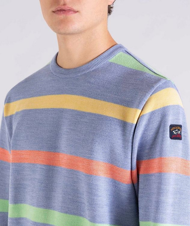 Striped Wool Sweater picture 4