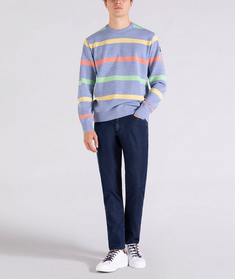 Striped Wool Sweater image 4