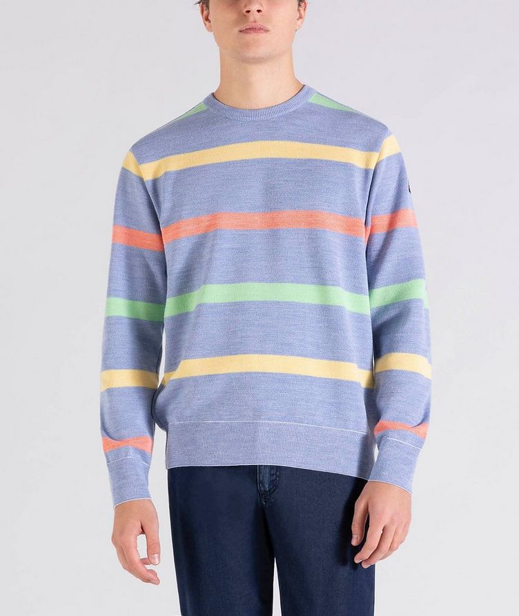 Striped Wool Sweater image 0