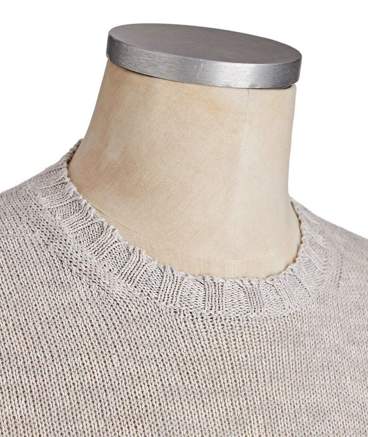 Linen-Cotton Sweater image 1