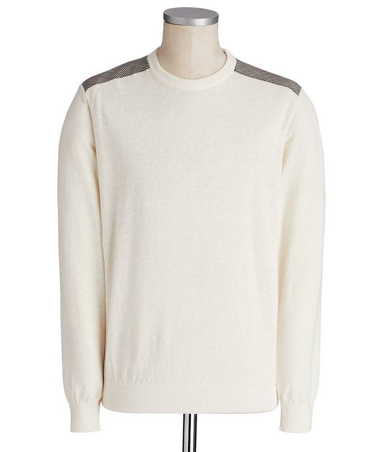 Linen-Cotton Sweater image 0