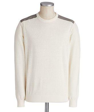 Paul & Shark Linen-Cotton Sweater