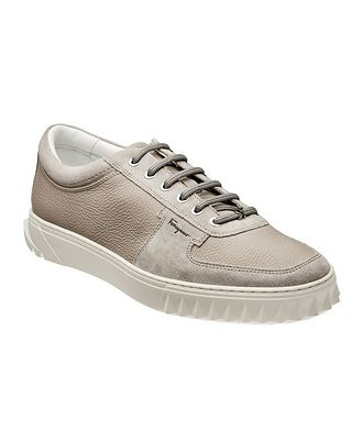 Salvatore Ferragamo Leather & Suede Sneakers
