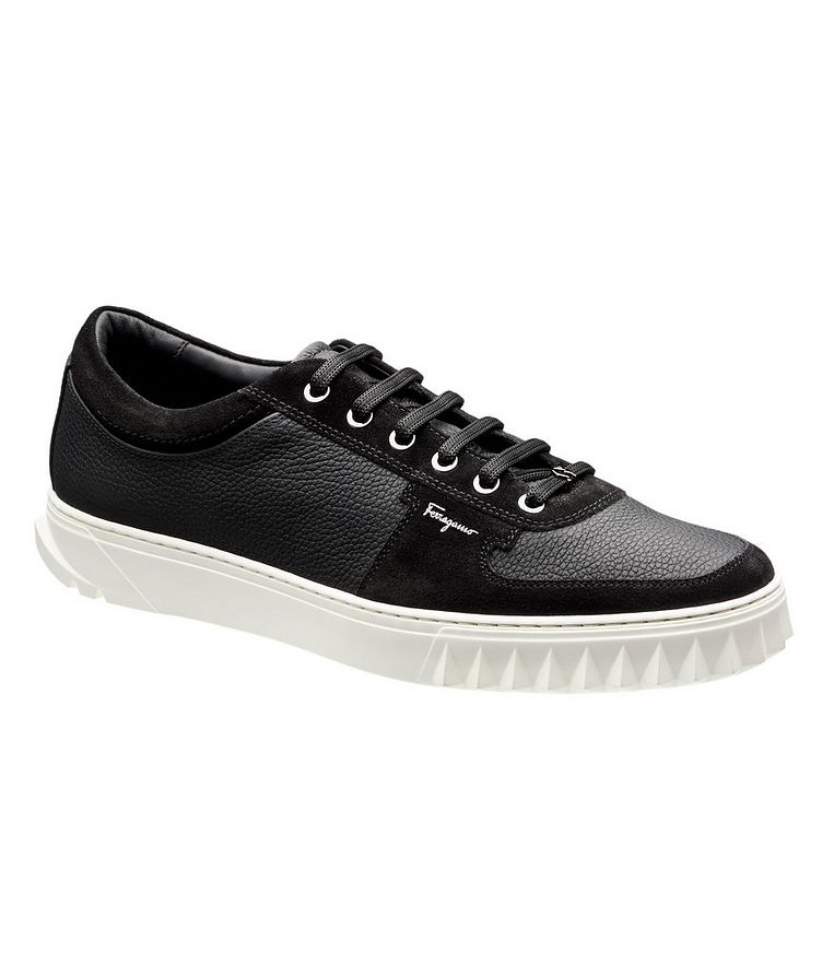 Leather & Suede Sneakers image 0