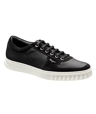 Salvatore Ferragamo Leather & Suede Sneakers