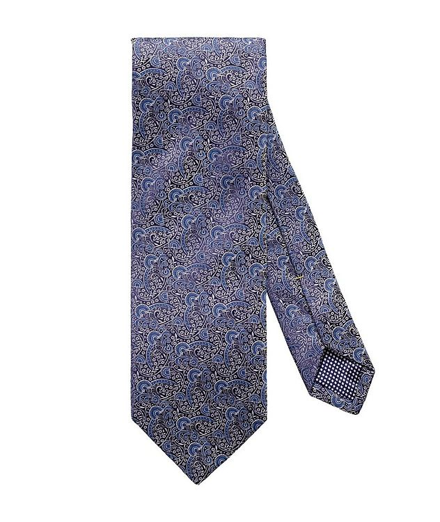 Paisley-Printed Silk Tie picture 1