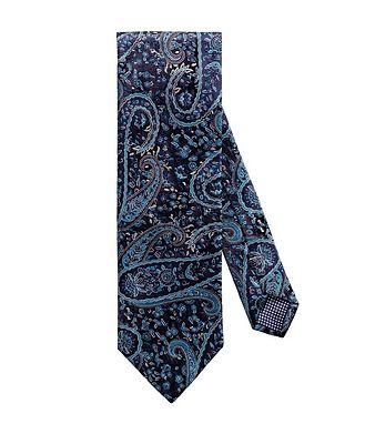 Eton Paisley-Printed Tie