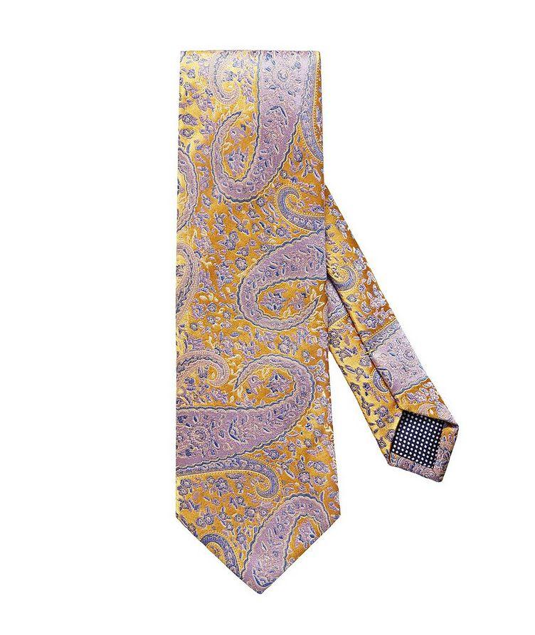Paisley-Printed Tie image 0