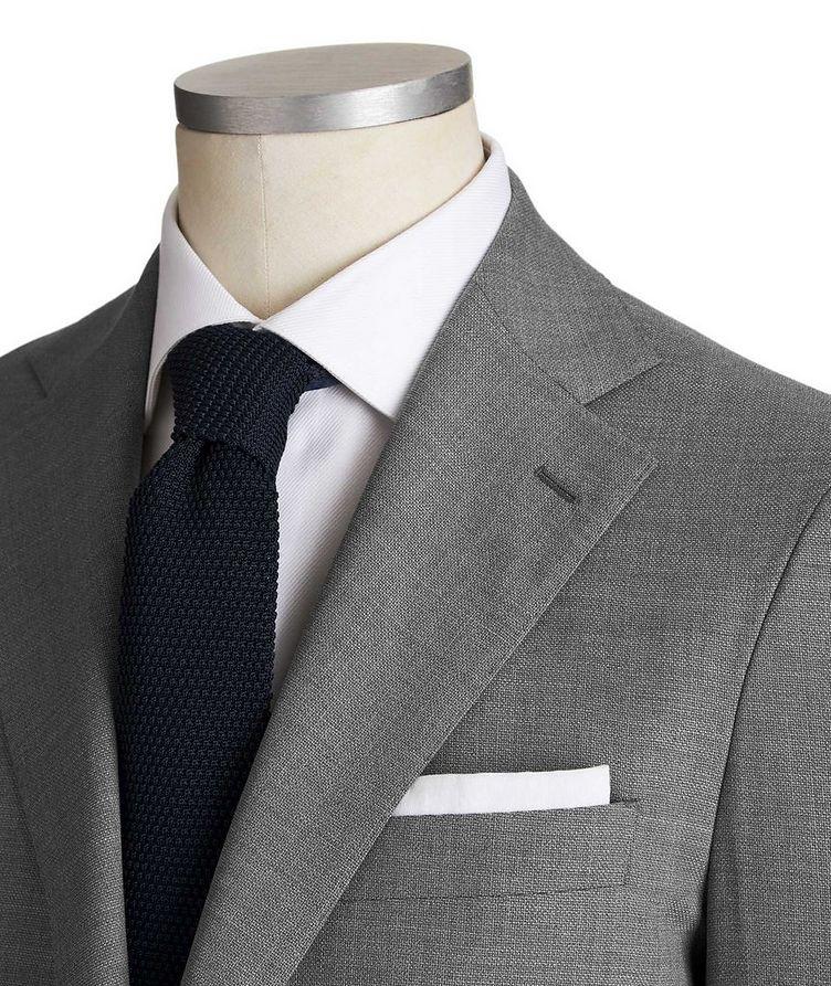 Slim Fit Wool-Silk Suit image 1