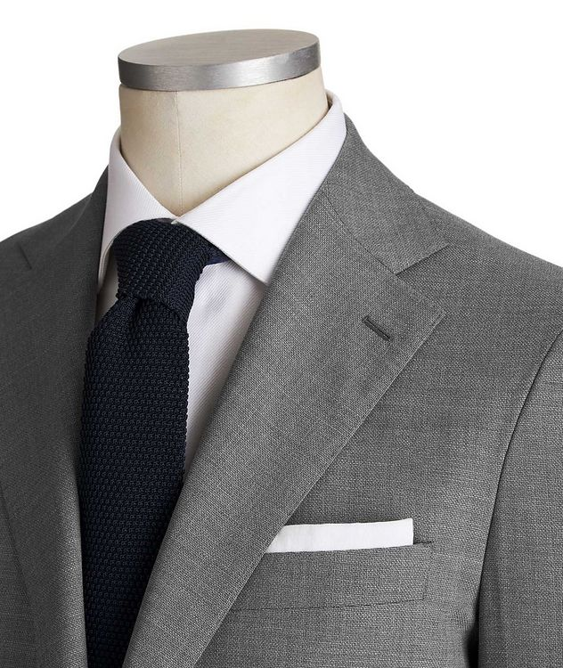Slim Fit Wool-Silk Suit picture 2