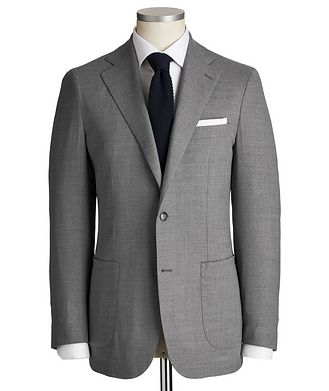 Atelier Munro Slim Fit Wool-Silk Suit