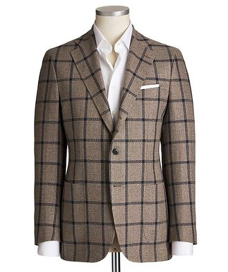 Atelier Munro Unstructured Silk, Linen & Cotton Tweed Sports Jacket