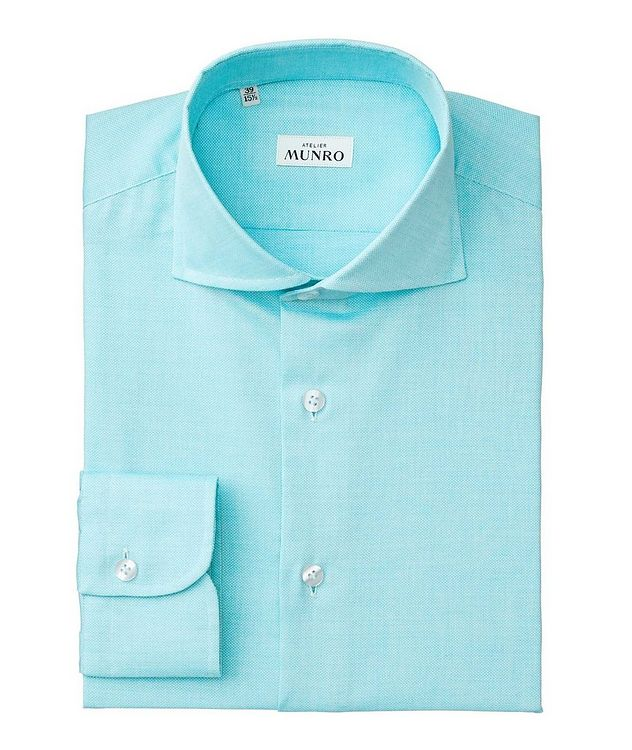 Slim Fit Cotton-Linen Dress Shirt picture 1