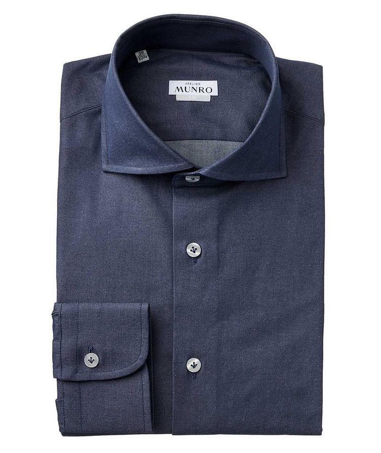 Slim Fit Chambray Dress Shirt image 0