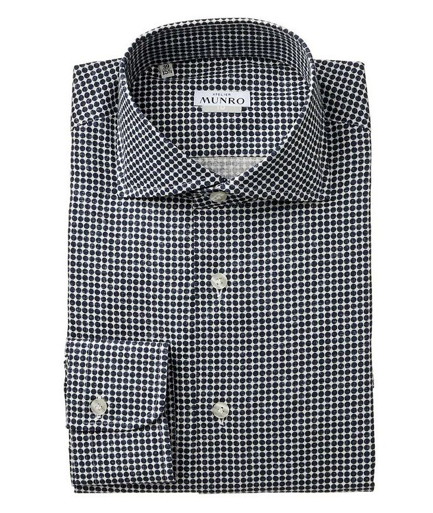 Slim Fit Cotton Dress Shirt picture 1