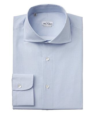 Atelier Munro Slim Fit Cotton Dress Shirt