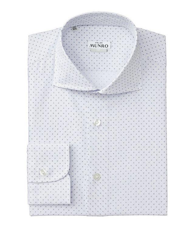 Slim Fit Striped Cotton Dress Shirt picture 1