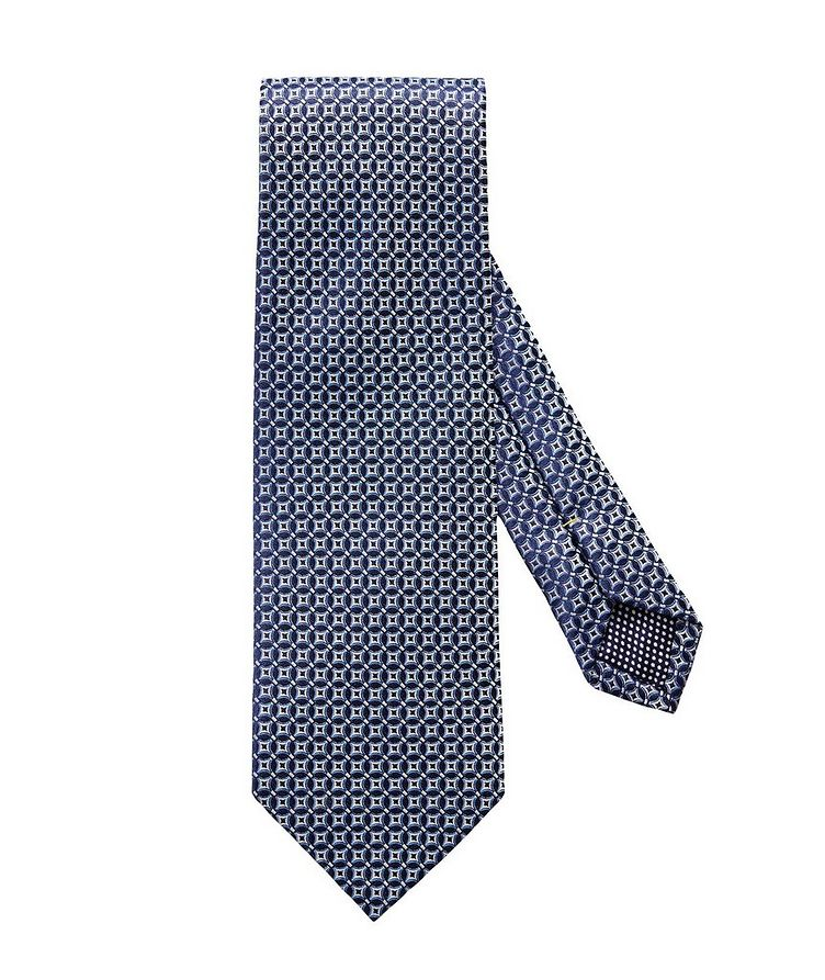 Checked Silk Tie image 0