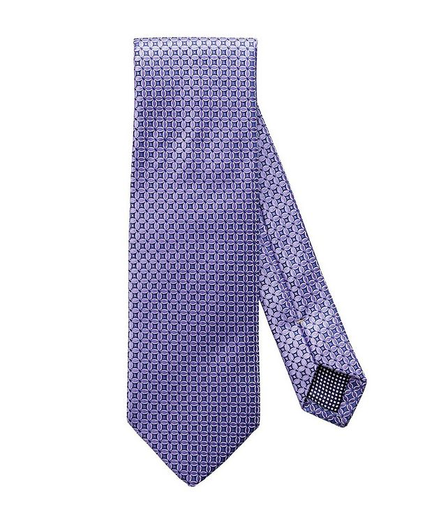 Checked Silk Tie picture 1