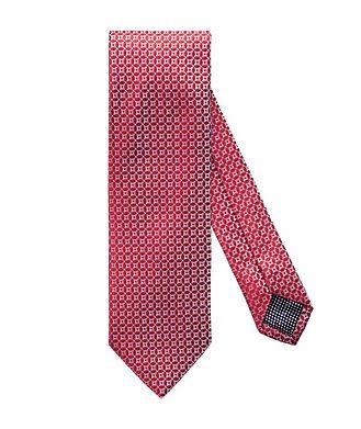 Eton Checked Silk Tie