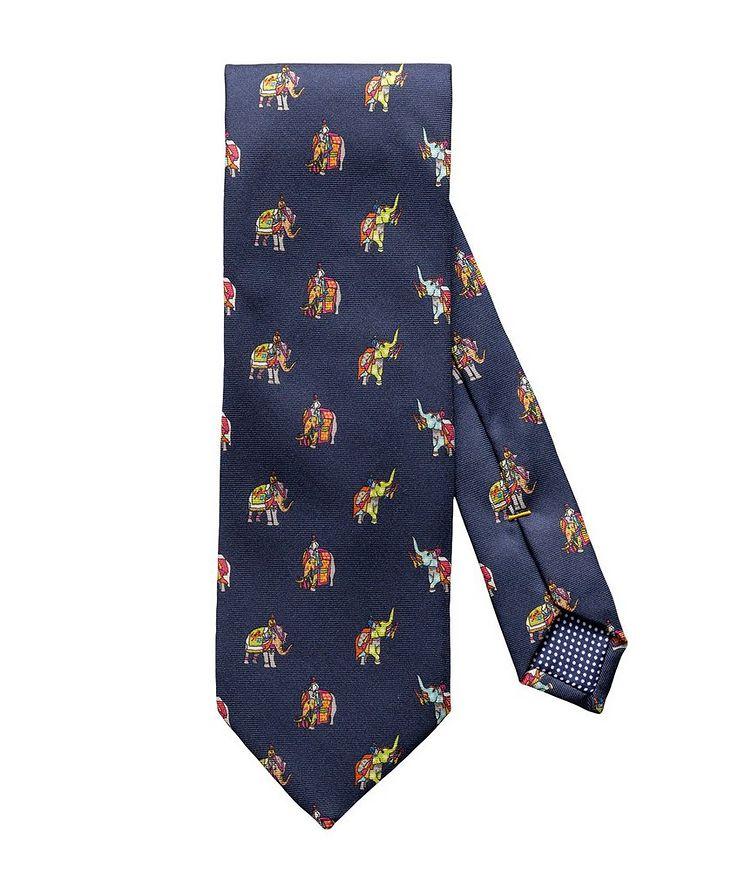 Elephant-Print Tie image 0