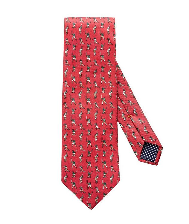 Cricket Player-Print Tie picture 1