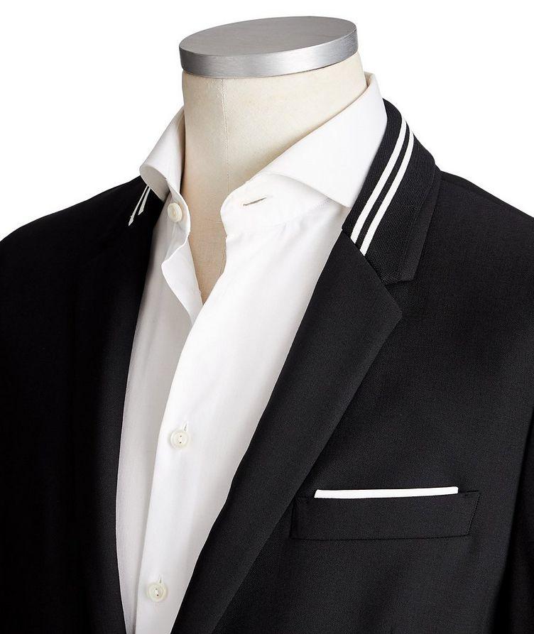Veston en lainage de coupe amincie image 1
