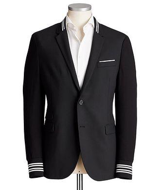 Neil Barrett Slim Fit Wool-Blend Sports Jacket