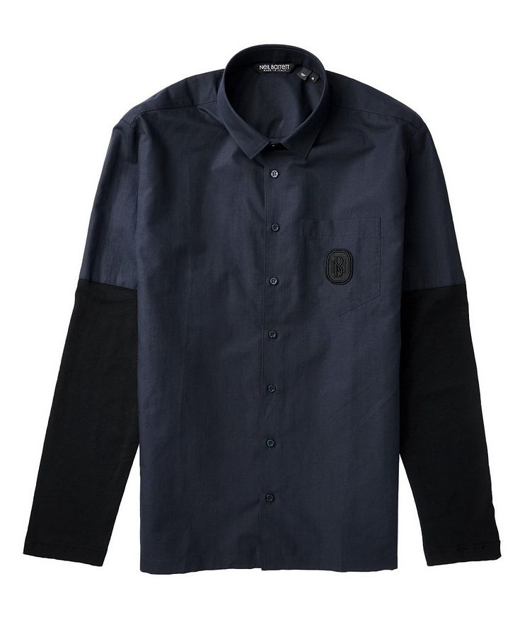 Contemporary Fit Cotton Shirt image 1