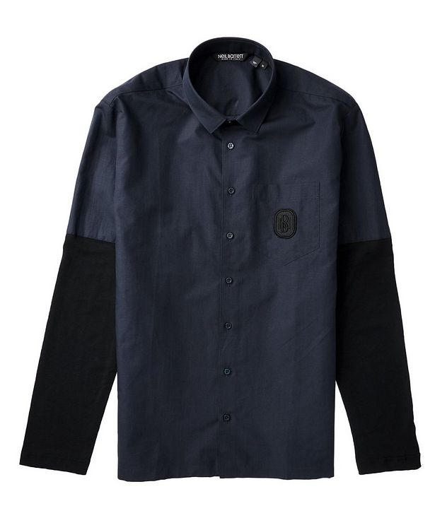 Contemporary Fit Cotton Shirt picture 2