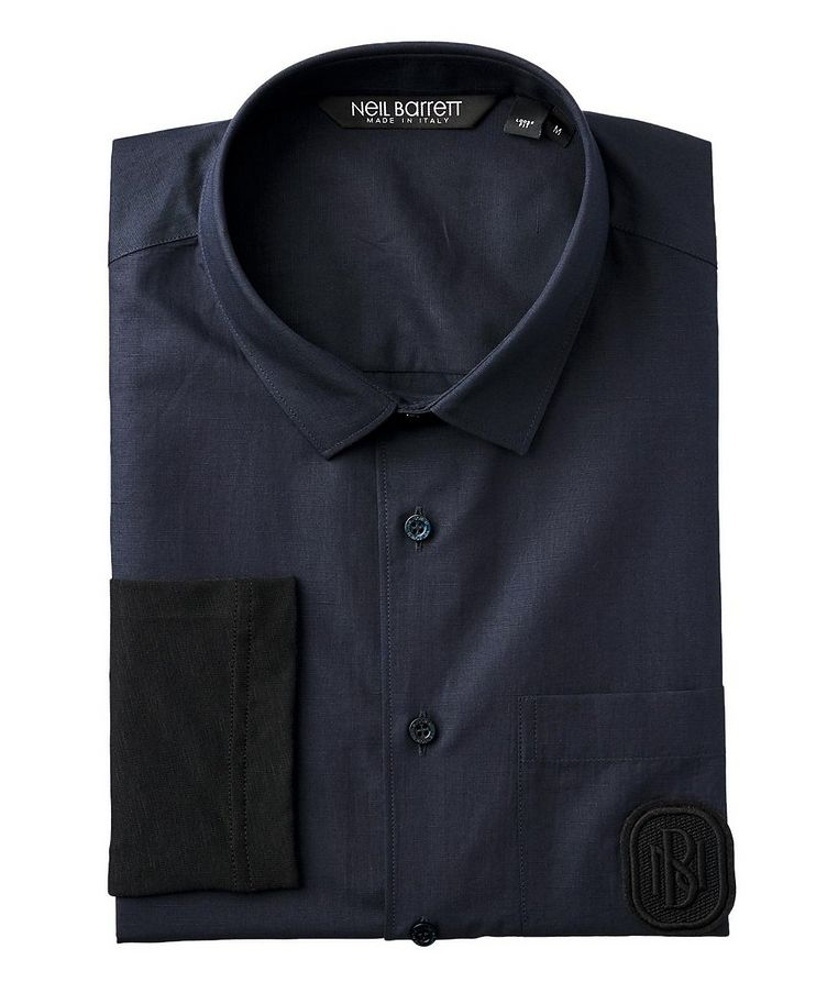 Contemporary Fit Cotton Shirt image 0