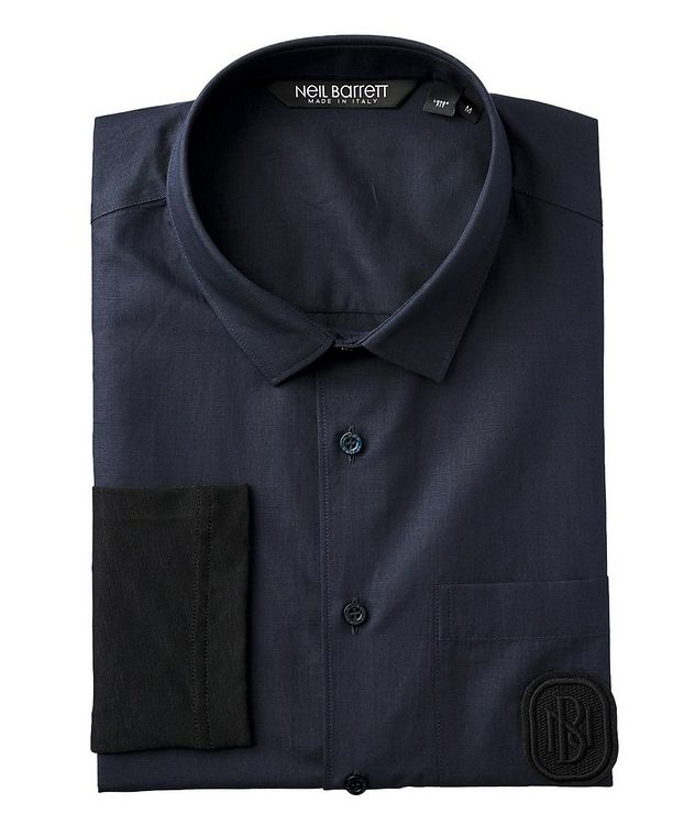 Contemporary Fit Cotton Shirt picture 1