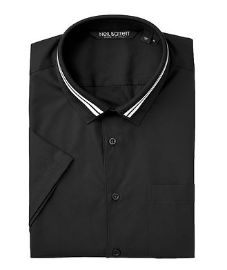 Neil Barrett Short-Sleeve Cotton Shirt
