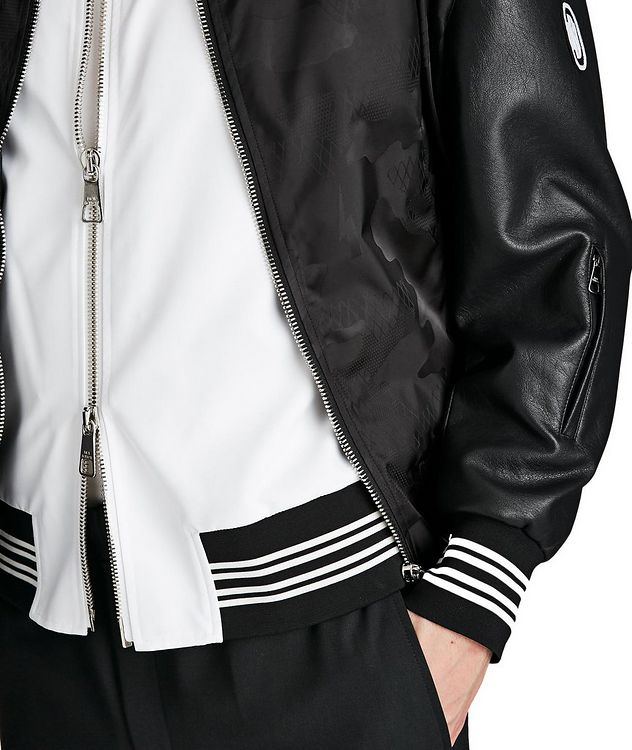 Multi-Texture Bomber Jacket picture 3