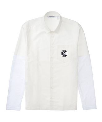 Neil Barrett Cotton-Linen Shirt