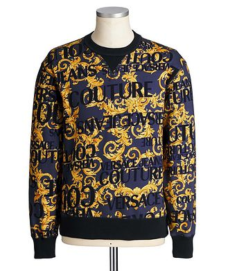 Versace Jeans Couture Printed Cotton Sweatshirt