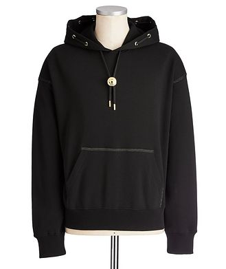 Versace Jeans Couture Loop-Back Cotton Hoodie
