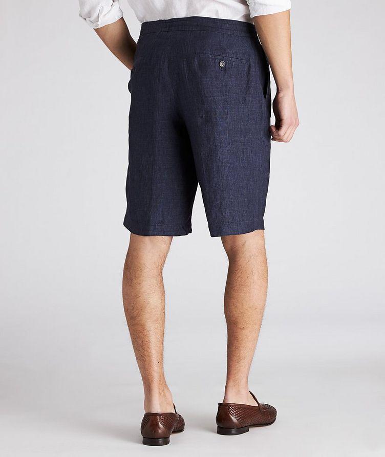 Linen Bermuda Shorts image 1
