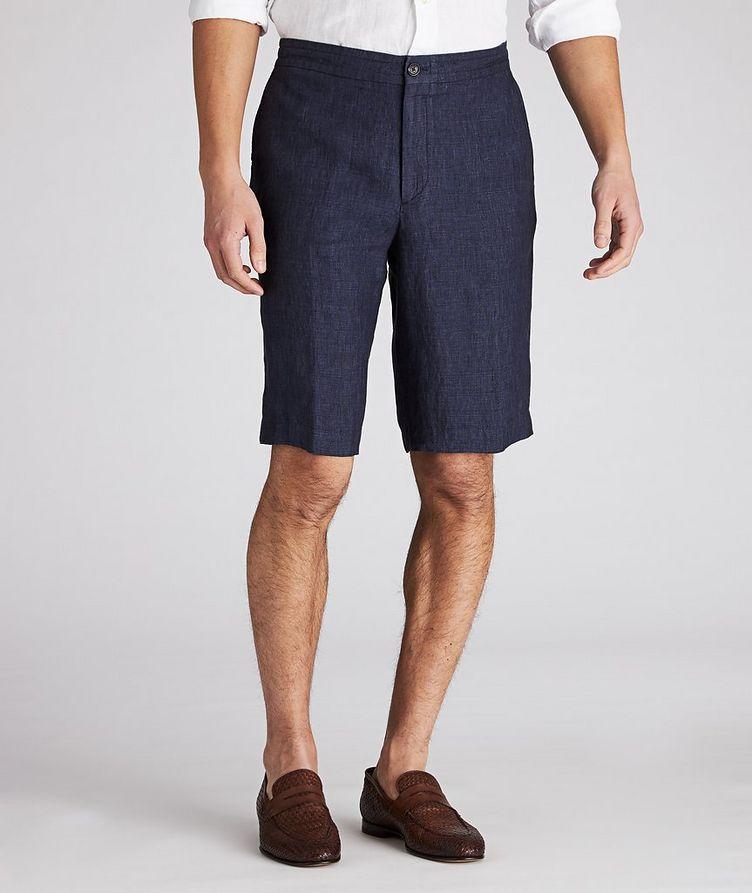 Linen Bermuda Shorts image 0