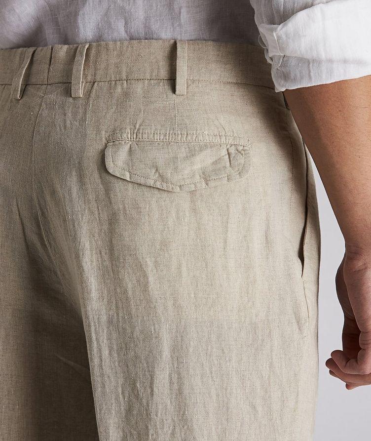 Pantalon en lin de coupe contemporaine image 2