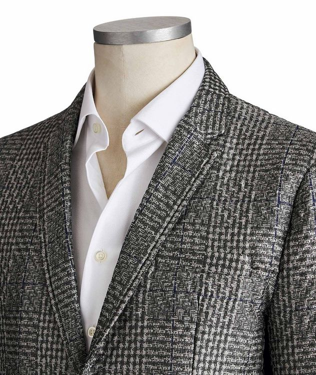 Textured Checked Blazer picture 2