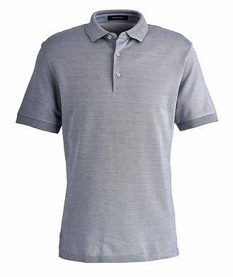 Ermenegildo Zegna Slim Fit Cotton-Silk Polo