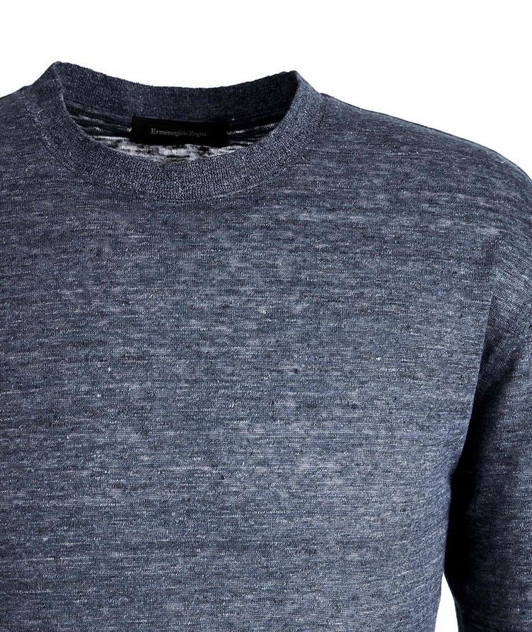 Heathered Linen T-Shirt image 1