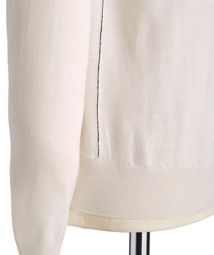 Cashmere, Silk & Linen Sweater image 1