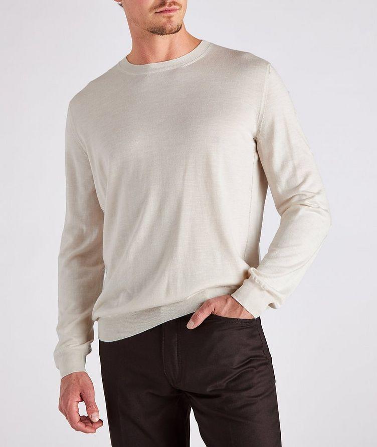 Cashmere, Silk & Linen Sweater image 2