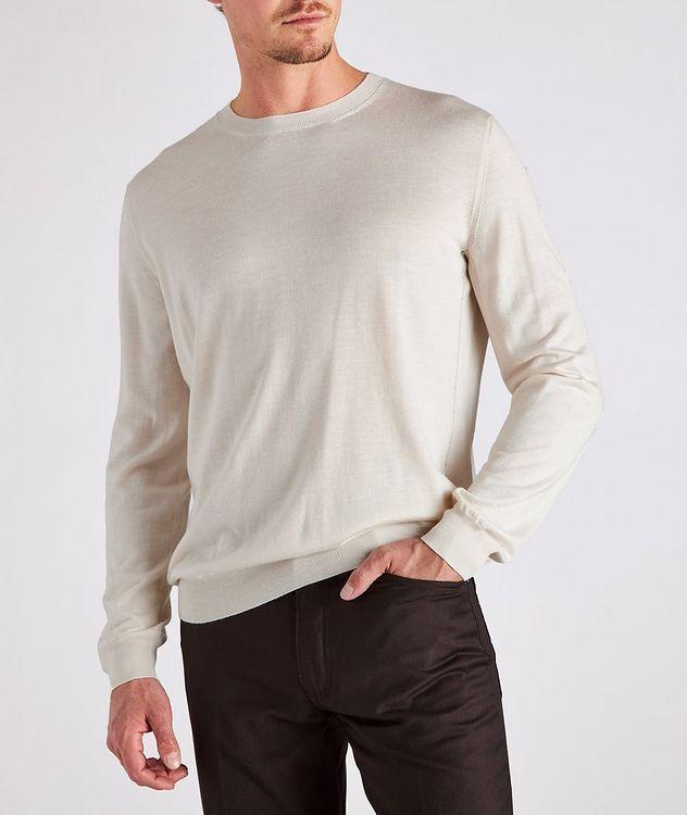 Cashmere, Silk & Linen Sweater picture 3