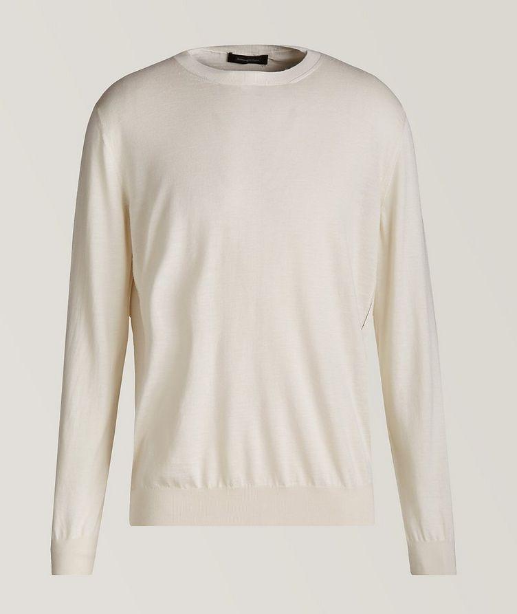 Cashmere, Silk & Linen Sweater image 0
